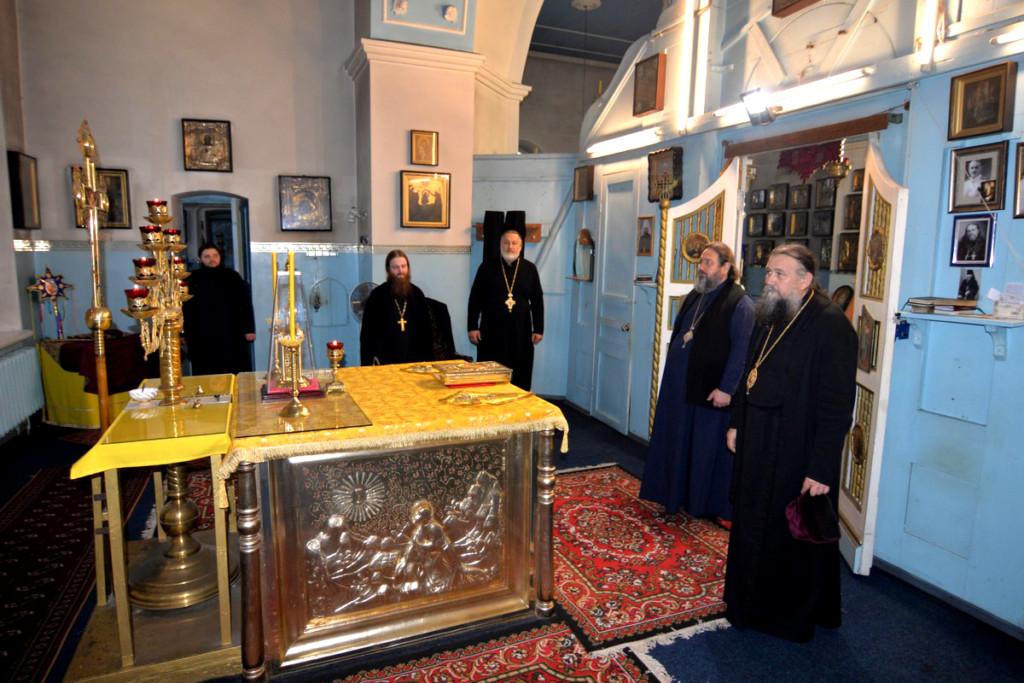 Визит Правящего архиерея и епископа Каширского Иова - Свято-Николаевский морской собор Херсона